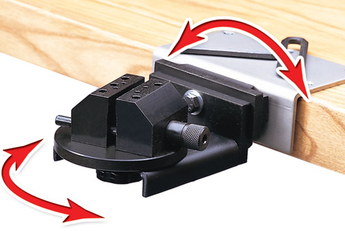 Multi-Purpose Vise for GRS BenchMate