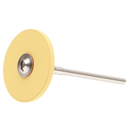 Yellow Rubber-Bond Diamond Polishing Wheel
