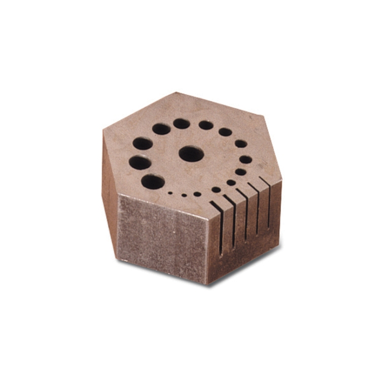 Hexagonal Steel Riveting Block