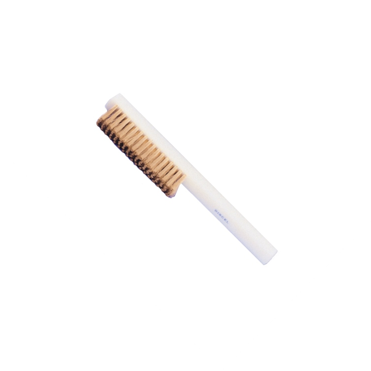 Brass Scratch Brush with Plastic Handle