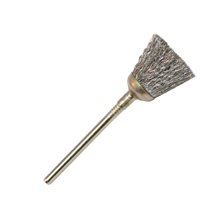 Steel Cup Brushes - Dozen Pack
