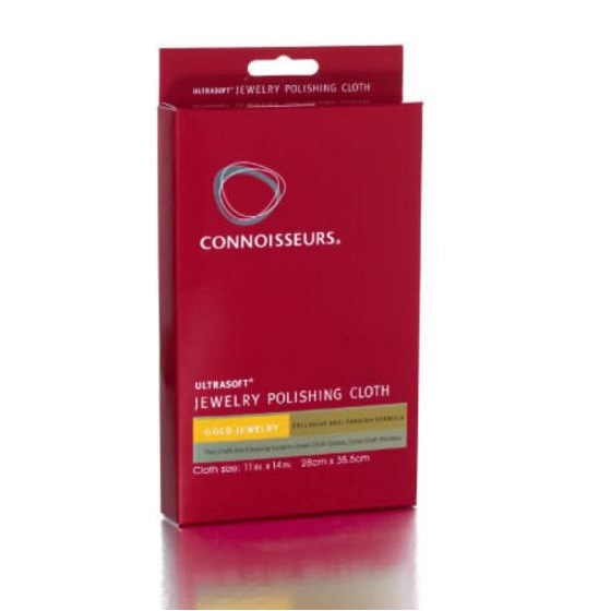 Connoisseurs Double Sided Gold Cleaning Cloth