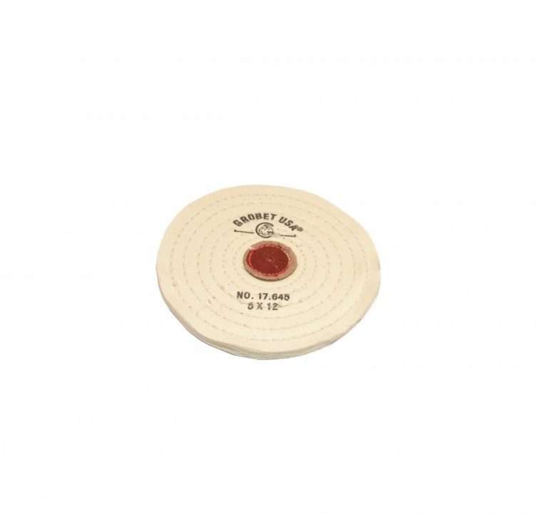Muslin Wheel Buff with Knife Edge