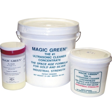 Magic Green Ultrasonic Cleaning Concentrate - Powder
