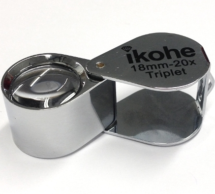 20X Triplet Loupe - 18mm