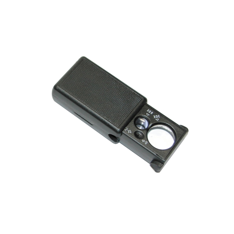 Pull Type Magnifier with LED and UV Light