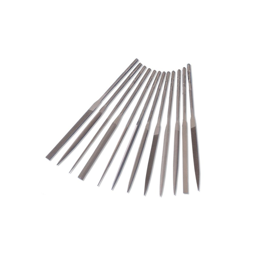 31680 Set of 12 Grobet Needle Files - Cut 2