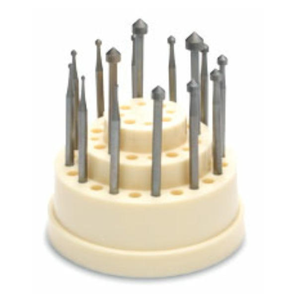 Maillefer Setting Bur Set, 12 burs