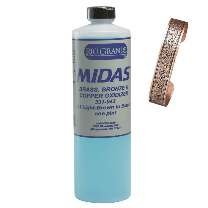 Midas Brass, Bronze and Copper Oxidizer