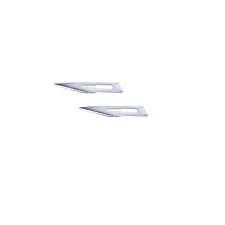 Straight Surgical Steel Blades
