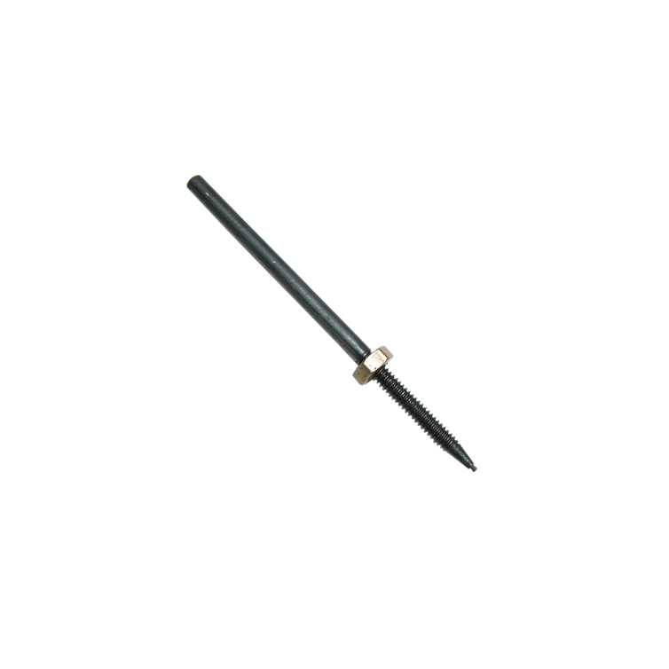 Miniature Point Mandrel - Threaded with Brass Nut