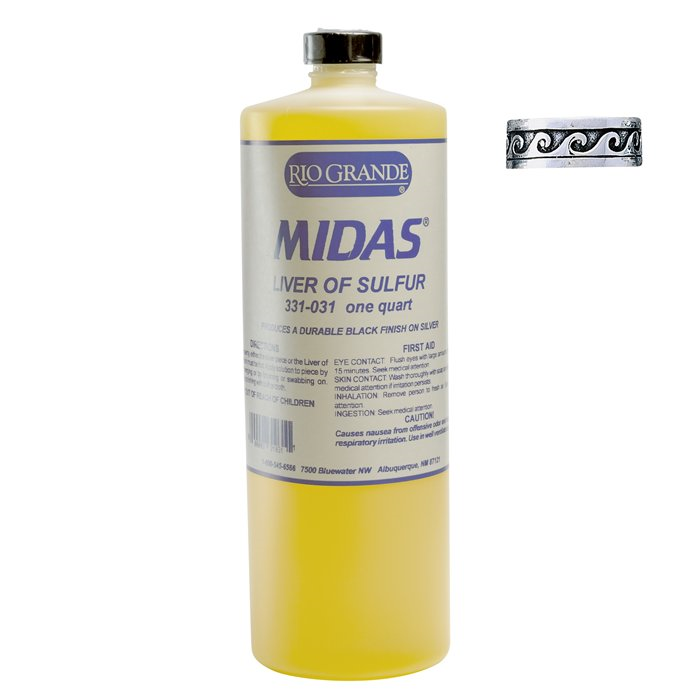 Midas Liver of Sulfur - 1 Qt
