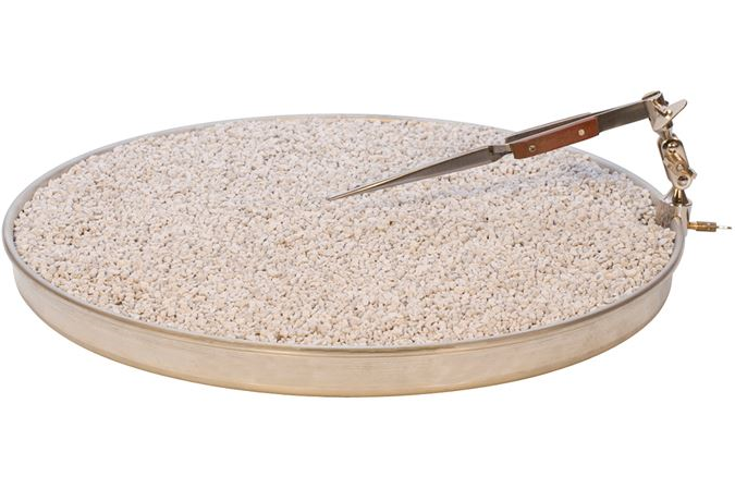 Annealing Pan with Pumice