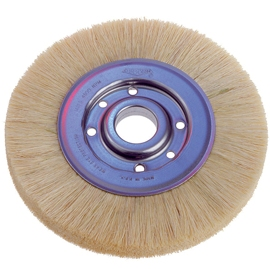 "1 7/8"" Soft Goat Hair Wheel Brush"