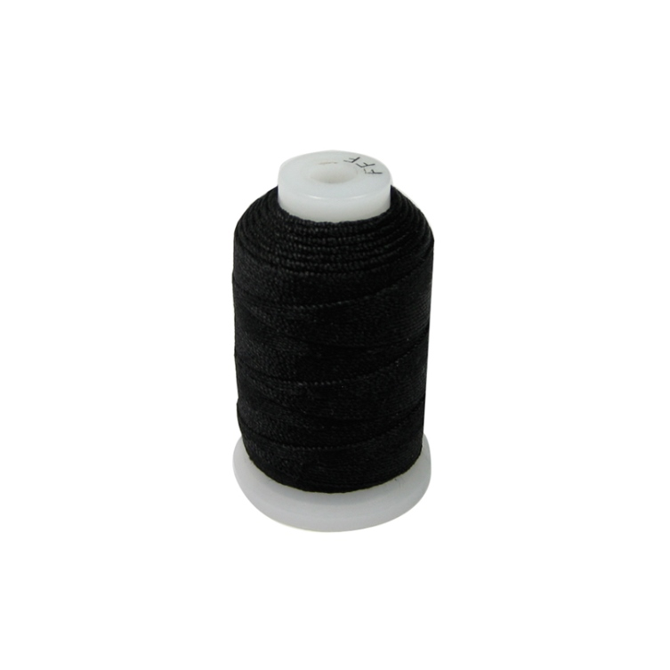 Black Silk Bead Cord Size E