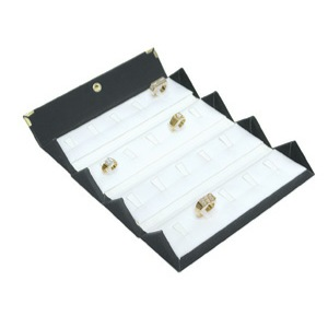20-Ring Leatherette Folding Box