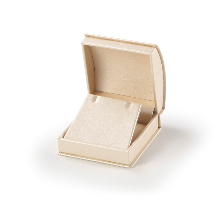 Gold Roll Top Earring Box