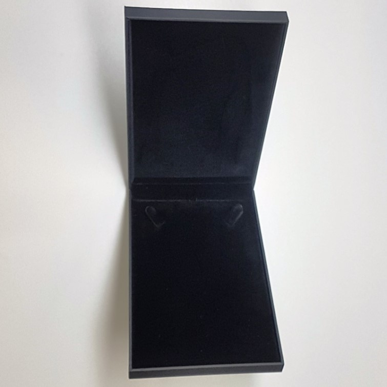 Black Stippled Necklace Box