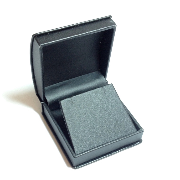 Black Roll Top Medium Earring/Pendant Box