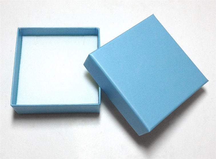 Robin Blue Pendant/Earring Box - Case of 100