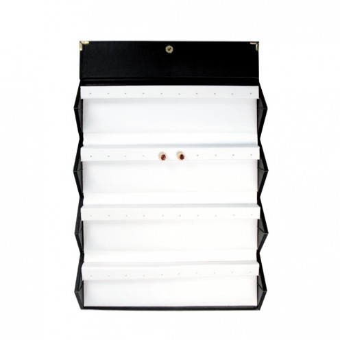Earring Folder 20-Pair Black