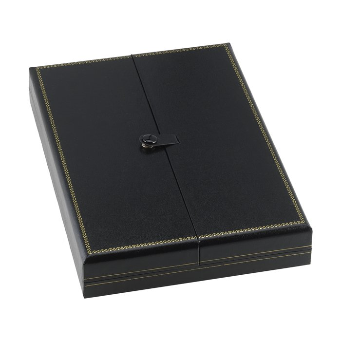 BN7 Black Deluxe Snap-Tag Necklace Box
