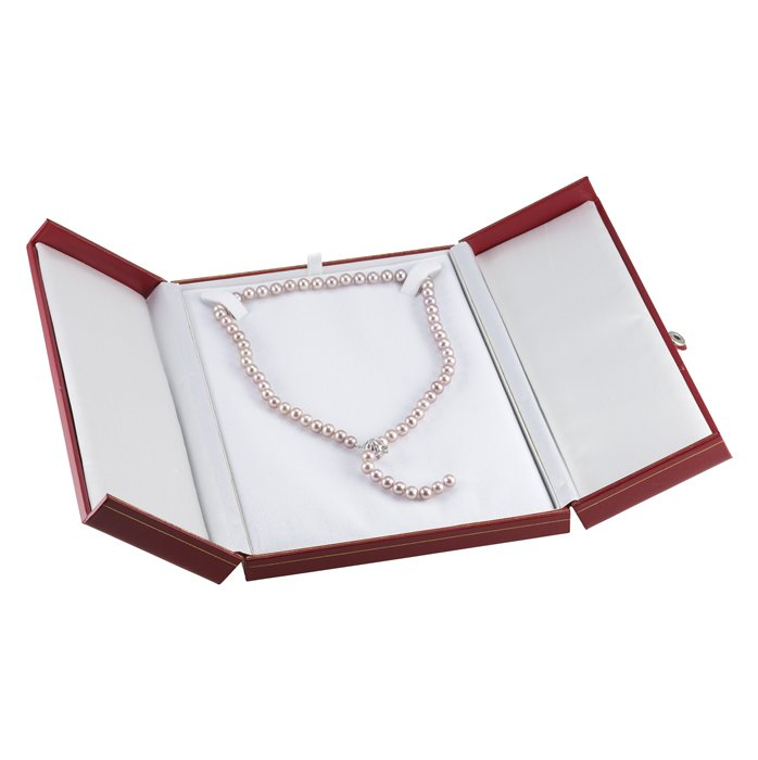 BN7 Red Deluxe Snap-Tag Necklace Box