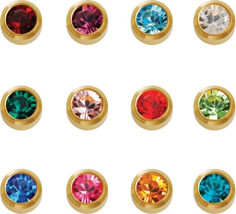 Caflon Yellow Birthstone Assortment