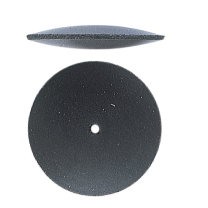Black Medium Silicon Softie Rubber Abrasive - 20pk