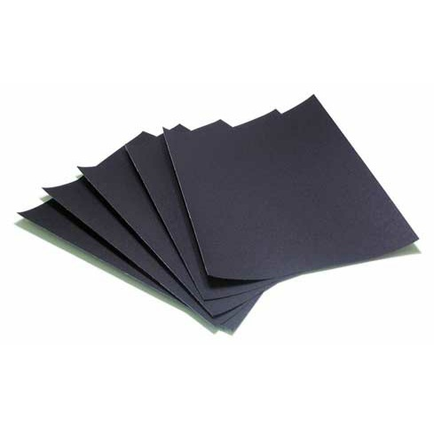 emery paper Emery paper is an abrasive paper that's used to sand and polish metal though people often confuse it with sandpaper, emery paper.