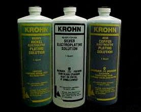 Krohn Silver Electroplating Solution 1 Quart