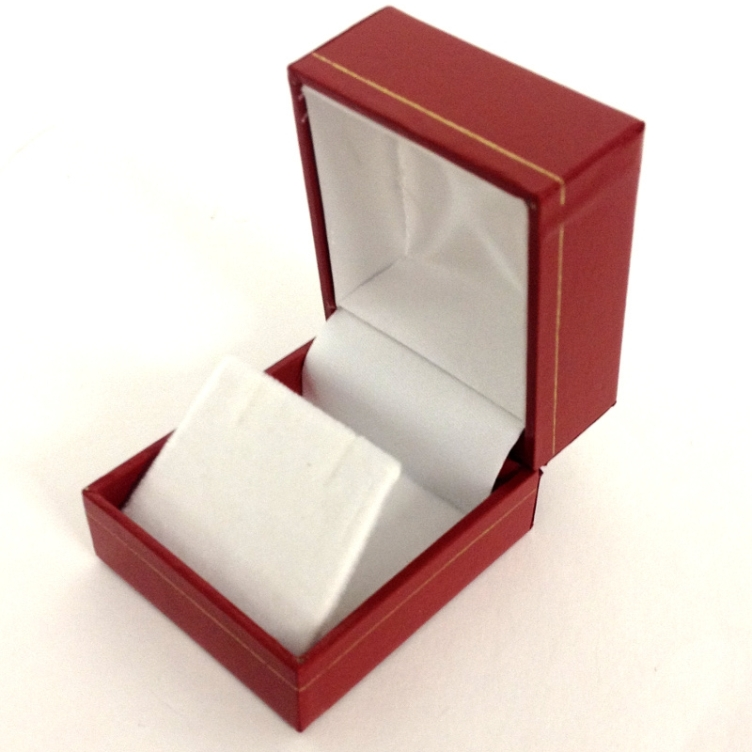 LE3 Red Cartier Style Earring Box