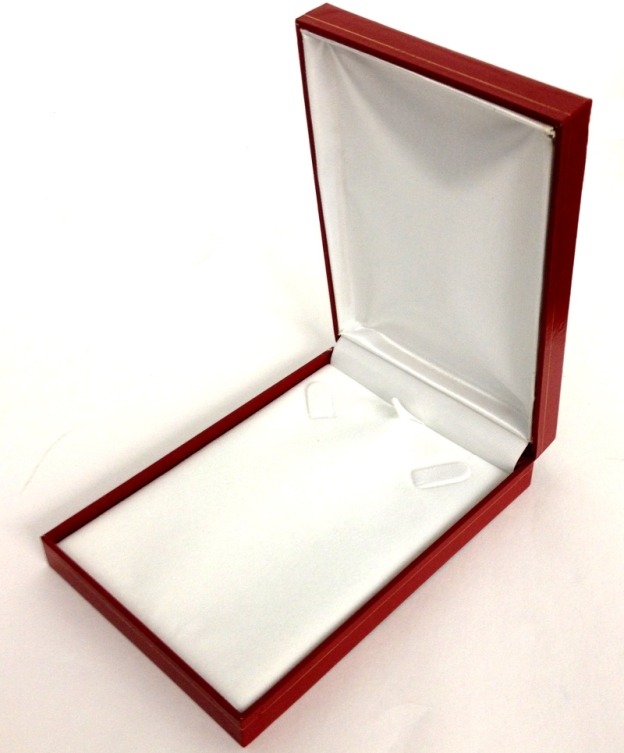 LV7 Red Cartier Style Necklace Box