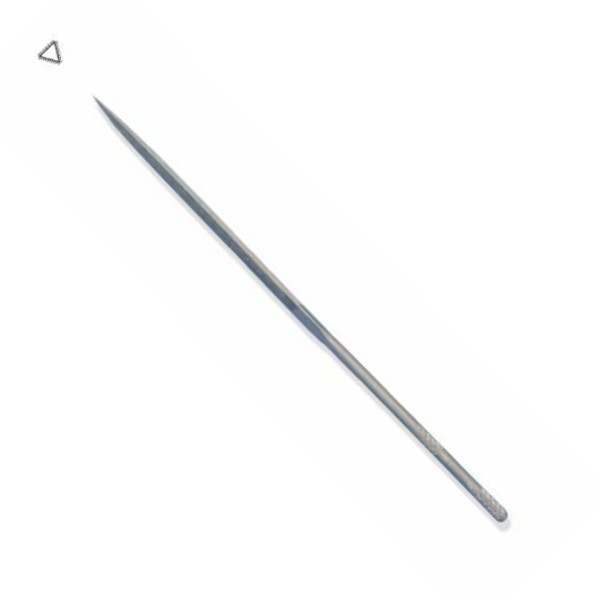 Swiss Grobet Three Square (Triangle) Needle File