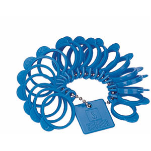 Economy Finger Ring Sizer
