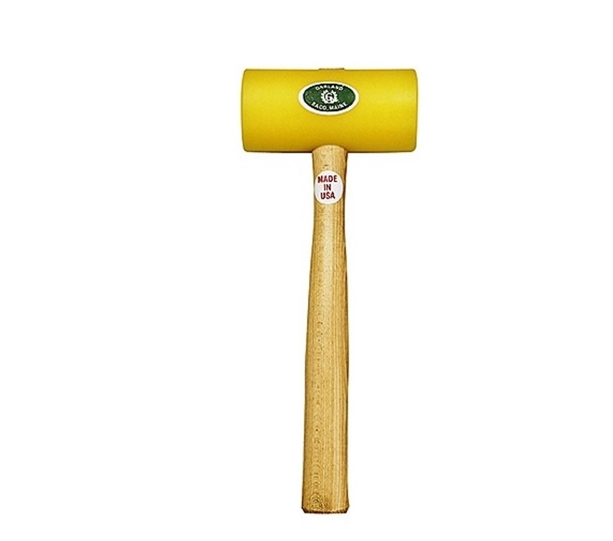 Yellow Plastic Mallet 1-3/4""