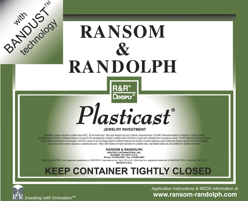 R&R Plasticast with Bandust - 50lbs
