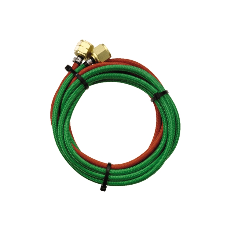 GenStar Twin Replacement Hoses, Red & Green