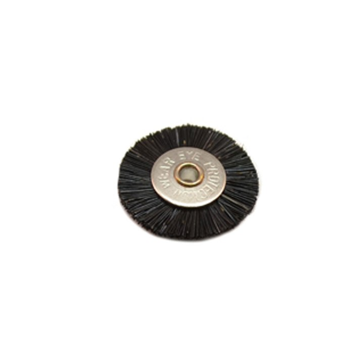 "Stiff Unmounted Wheel Brush - 1/8"" Arbor - Dozen Pack"