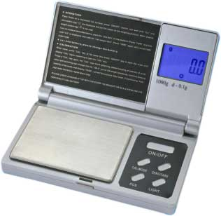 XR1000 1000g Digital Pocket Scale