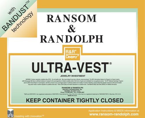R&R Ultra-Vest with Bandust - 50lbs