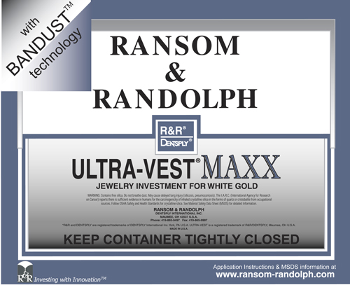 R&R Ultra-Vest MAXX with Bandust - 50lbs