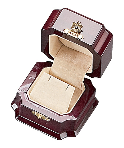 Royal Rosewood Earring Box
