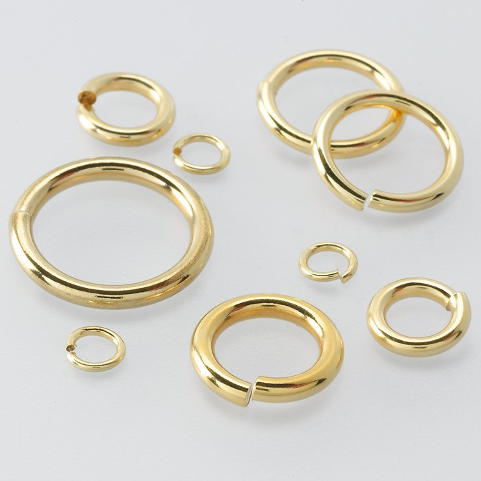 Yellow Gold Filled Jump Rings