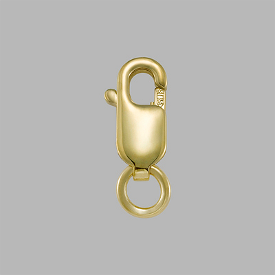 Yellow Gold Filled Lobster Clasp with Ring