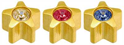 Caflon Yellow Assorted Star Stones