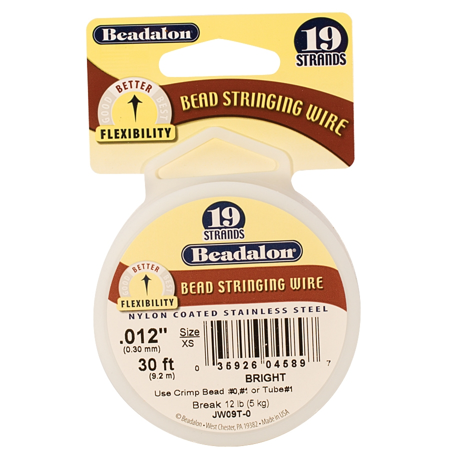 Beadalon 19 Strand Bead Stringing Wire