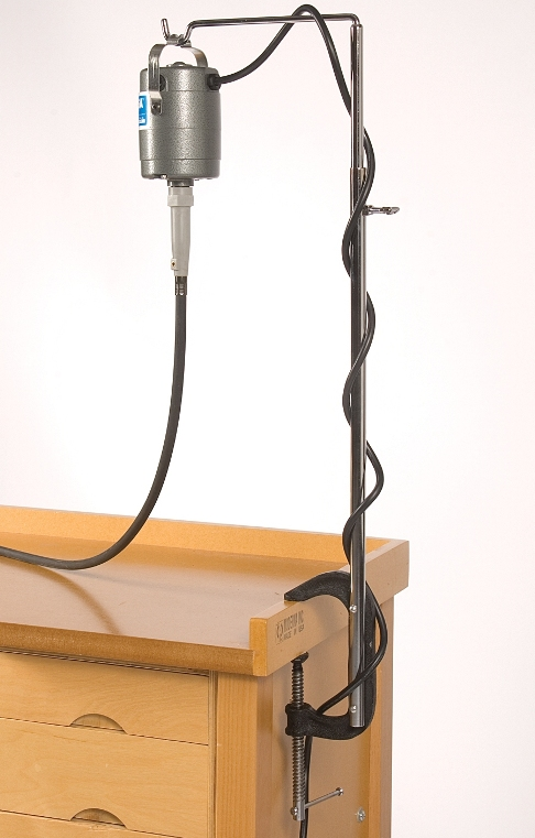 Flexshaft Motor Hanger - Bench Clamp Model